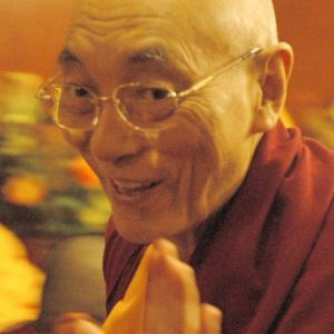 headshot of Choden Rinpoche