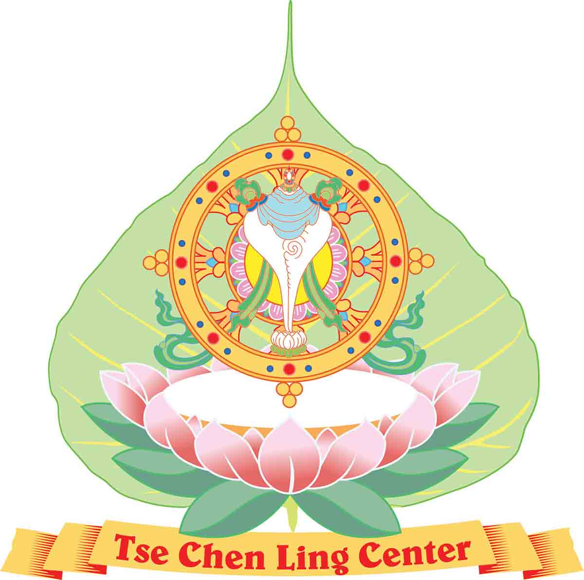 Tse Chen Ling Buddhist Center Logo San Francisco