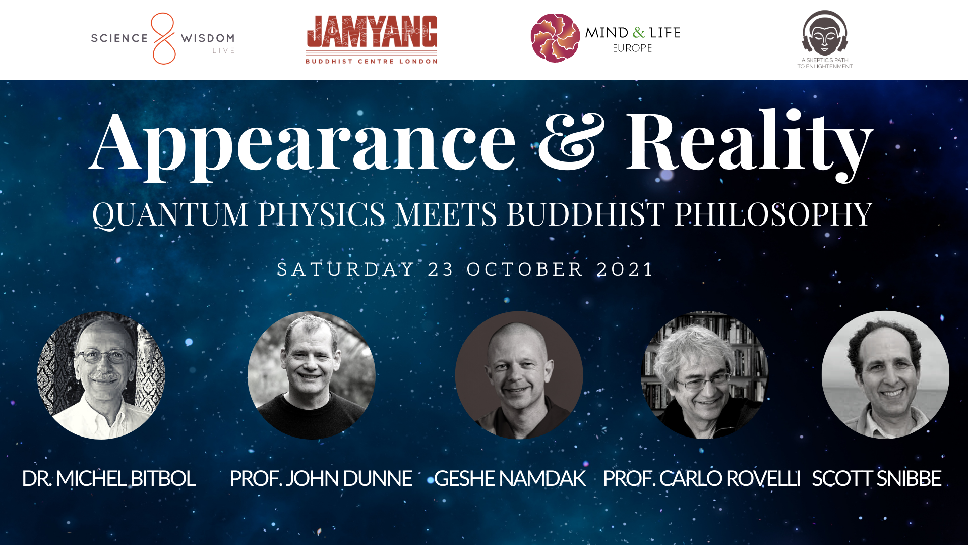 Science and Wisdom Live Appearance and Reality