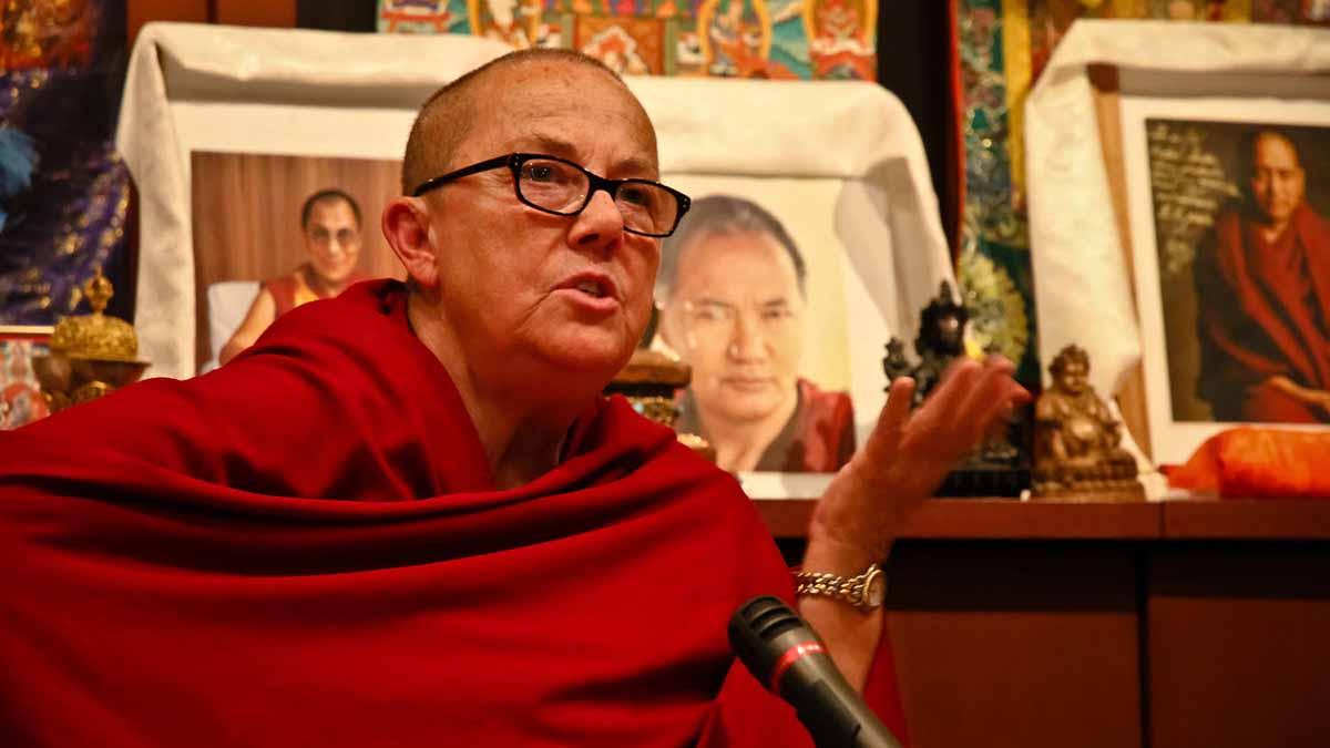 Venerable Robina Courtin, Buddhist nun and advocate for prisoner's rights
