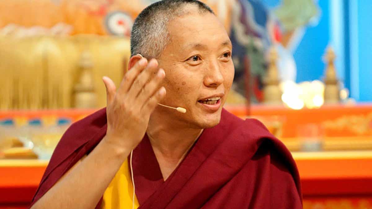 Khen Rinpoche Geshe Tashi Tsering, Tibetan Buddhist lama and teacher