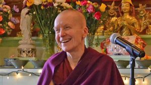 Venerable Sangye Khadro (Kathleen McDonald) Buddhist nun and author of How to Meditate