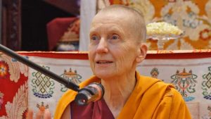 Venerable Sangye Khadro, Kathleen McDonald, Tibetan Buddhist nun and teacher, author of How to Meditate