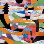 Woman awakening Paul Klee 1930 body awareness meditation