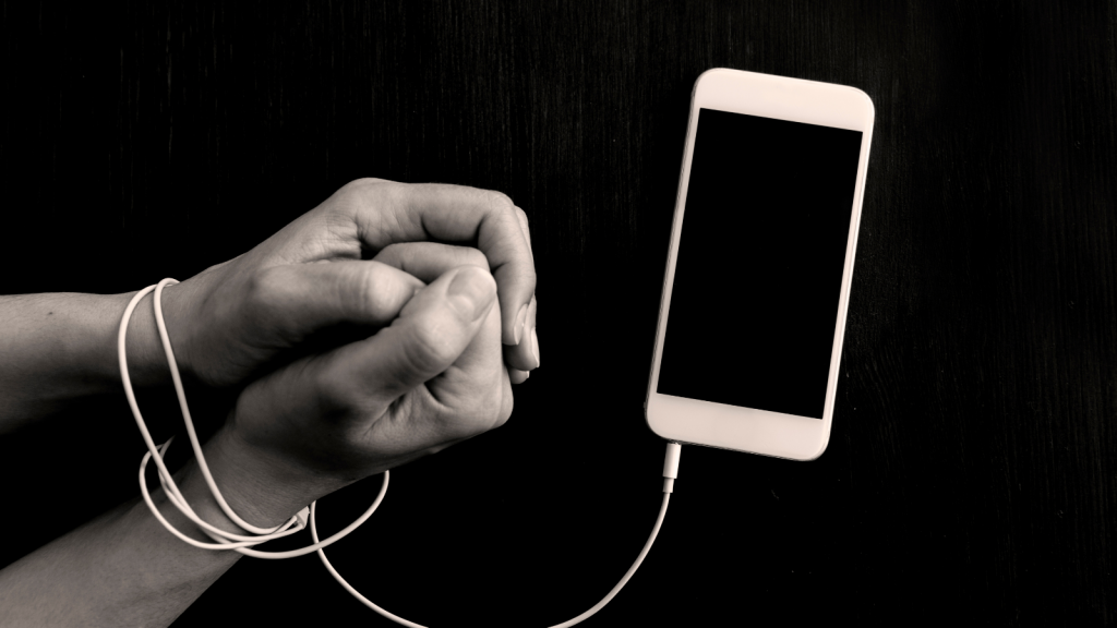 Technology addiction in the modern world can be addressed by ancient Buddhist teachings that are all about addiction.