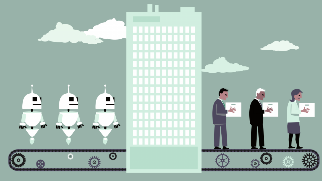 Artificially intelligent robots will change the future of work for humans.