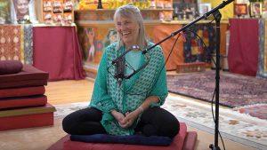 Buddhist teacher Elaine Jackson