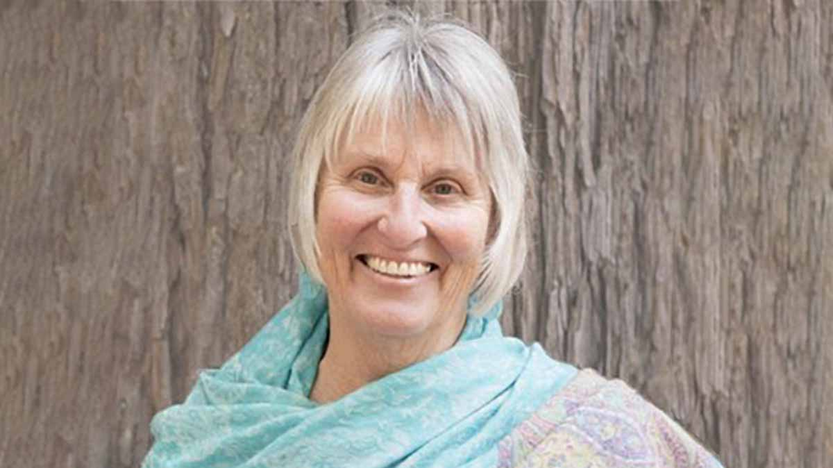 Elaine Jackson guiding a loving-kindness meditation