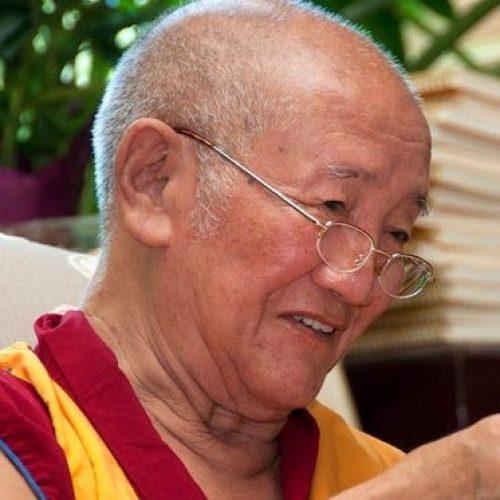 headshot of Gyumed Khensur Rinpoche Lobsang Jampa