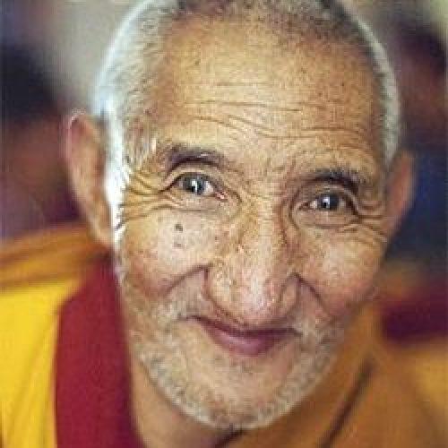 headshot of Ribur Rinpoche