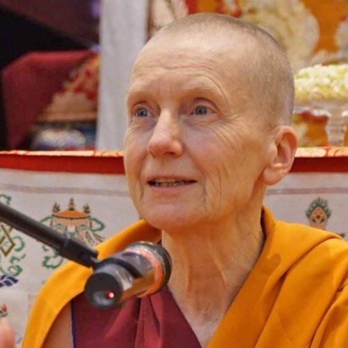 Venerable Sangye Khadro, Kathleen McDonald, Tibetan Buddhist nun and teacher, author of How to Meditate